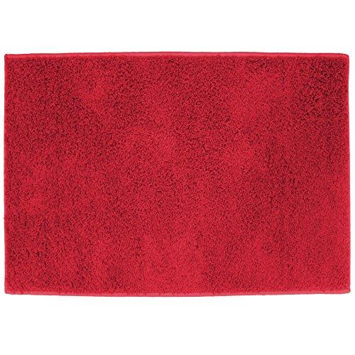 Tapis Déco Twist Tapis Tisse Uni Polypropylène Rouge 166 x 117 x 166 cm