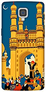The Racoon Lean printed designer hard back mobile phone case cover for Oneplus 3. (hyderabad)