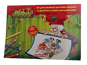 Studio 100 BOPL00002110 Libro y página para Colorear Libro/álbum para Colorear - Libros y páginas para Colorear (Libro/álbum para Colorear, Niño, Niño/niña, 1 año(s), 4 año(s), Holandés)