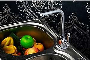 BBO Wasserhahn/kupfer Einlocharmatur-Sprühkopf auf einem Küchenarmatur