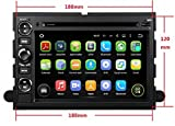 7 Zoll 2 Din Quad Core Android 5.1.1 Lollipop OS Autoradio für Ford Fusion(2006-2009) Explorer/Edge(2006-2010) Expedition(2007-2011) Escape(2008-2009) F150(2004-2008) F250(2005-2013) F350/F450(2005-2012)