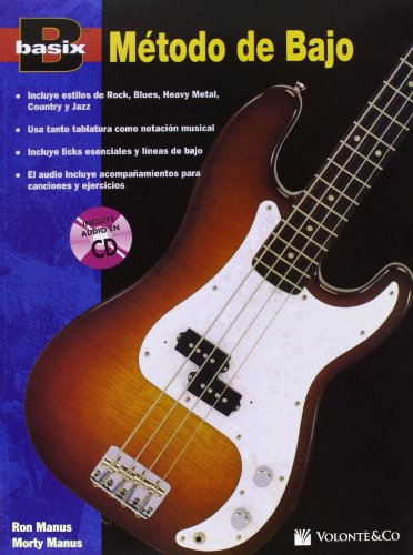 BASIX METODO DE BAJO + CD por Manus Ron/Manus Morty