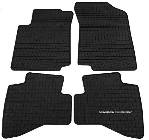 Preisvergleich Produktbild Gummi Auto Fußmatten exakter Passform 4-teilig CTR-542735
