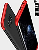 Samsung Galaxy S8 Cover - Red / Black- Amozo® Shockproof 360 Degree All Side Protection Case Cover