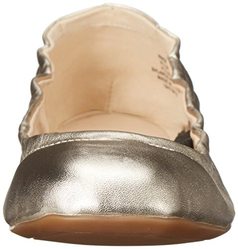 Nine West Goalie Synthetic Ballerinas Light Gold