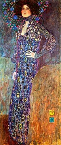 Das Museum Outlet–Portrait Of Emily gold Klimt–Leinwand (61x 45,7cm)