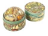 linoows Spielzeug Globus in historischer Pappschachtel, Kleiner Abenteuer Globus