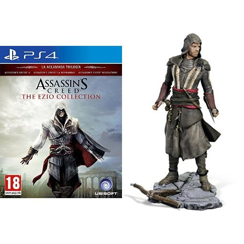 Assassin's Creed: The Ezio Collection + Assassin's Creed Figura Aguilar (Michael Fassbender)