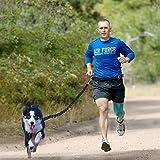 Hände frei Hundeleine,Topist Premium Qualität Hundeführleine,Joggingleine für Hunde mit Verstellbar Taille Gürtel, Perfekt für Laufen, Jogging, Wandern und Walking(Dehnt von 3 Fuß zu 5 Fuß) - 6
