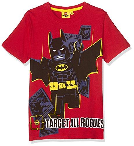 Lego-Jungen-T-Shirt-793-Legobatman-Rot