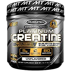 Muscletech Platinum 100% Creatine - 400 gr