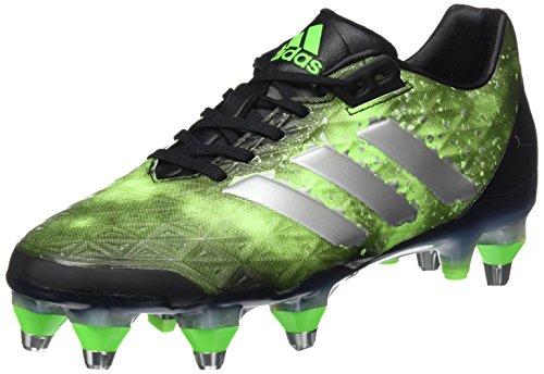 Sg Rugby Stiefel (adidas Adipower Kakari SG Herren Rugby-Stiefel, Schwarz-(Negbas/Plamet/Versol) 40)