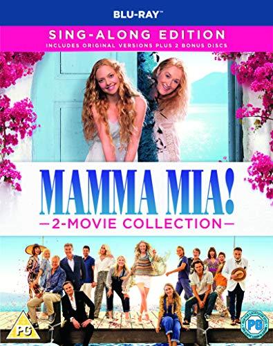 Mamma Mia! 2-Movie Collection (Blu-ray) [2018] [Region Free]