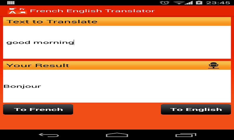 French English Translator free: Amazon.de: Apps für Android