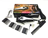 Brite BHT-1400 Professional Electric Hair Trimmer Heavy Duty Grooming Set for Men, Women (Silver or MutliColor)
