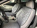 Sitzbezüge k-maniac | Universal grau | Autositzbezüge Set Vordersitze | Autozubehör Innenraum | Auto Zubehör für Frauen und Männer | V233991 | Kfz Tuning | Sitzbezug | Sitzschoner
