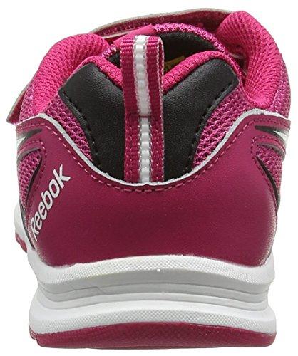 Reebok Bd4278, Scarpe da Trail Running Bambina Multicolore (Pink Crazy/black/white)