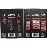 1 X Zippo Lot de 3 mèches et de 3 silex pour briquet