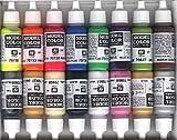 Vallejo Wargames speciale vernice acrilica set, colori assortiti (Confezione da 16)