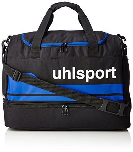uhlsport Basic Line Spielertasche, Schwarz/Royal, M, 100424602