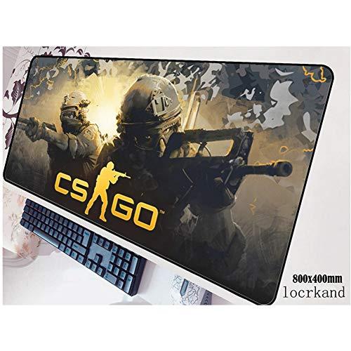 aus Notebook Computer Mauspad Gaming Pad Maus Halloween Gif Tastatur Gamer Bis 80X40 Cm Maus Matten ()