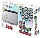 Nintendo 3DS XL Console Special Edition with Mario and Luigi Dream Team Pre-Installed (Silver & Black)