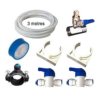 TheWaterFilterMen Universal Kit de instalación de ósmosis inversa accesorios piezas de repuesto Acuario Peces Koi Marino Ro