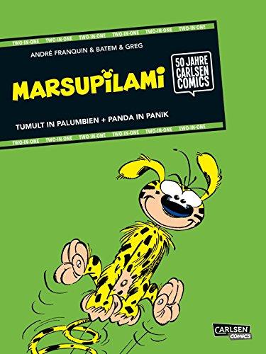 Buchseite und Rezensionen zu 'Marsupilami: TWO-IN-ONE: Tumult in Palumbien / Panda in Panik' von André Franquin