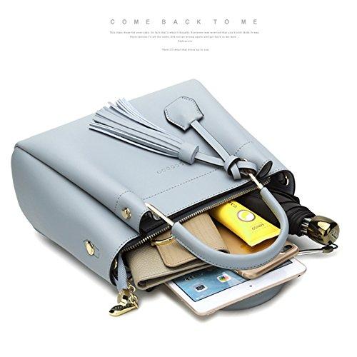 Borse eleganti per borse da donna delle borse per ragazze - Nero Nero
