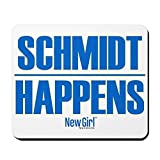 CafePress–New Girl Schmidt–rutschfeste Gummi Mauspad, Gaming Maus Pad
