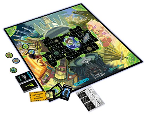 Winning-Moves-11422-Cluedo-Beliebteste-Detektivspiel-der-Welt-Trifft-auf-Die-Bunte-Zeichentrickwelt-von-Wissenschaftler-Rick-und-Seinem-Enkel-Morty-Deutsch