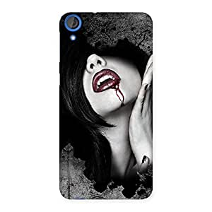 Delighted Wonder Lips Red Back Case Cover for HTC Desire 820