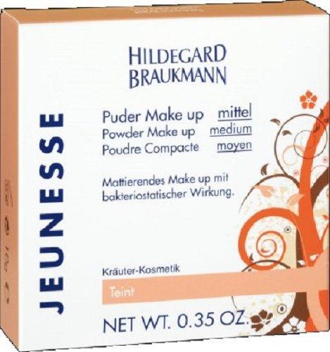 Hildegard Braukmann Jeunesse Puder Make up mittel, Powder Make Up Medium, 10 g