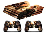 Skin PS4 PRO HD - THE LAST OF US - limited edition DECAL COVER ADHESIVO playstation 4 SLIM SONY BUNDLE