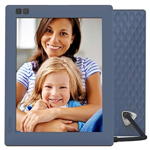 NIXPLAY Seed WLAN Digitaler Bilderrahmen 8 Zoll W08D Blau. Fotos & Videos per App oder Email an den Elektronischen Fotorahmen übertragen. IPS Display. Auto On/Off Funktion (Hu-Motion Sensor)
