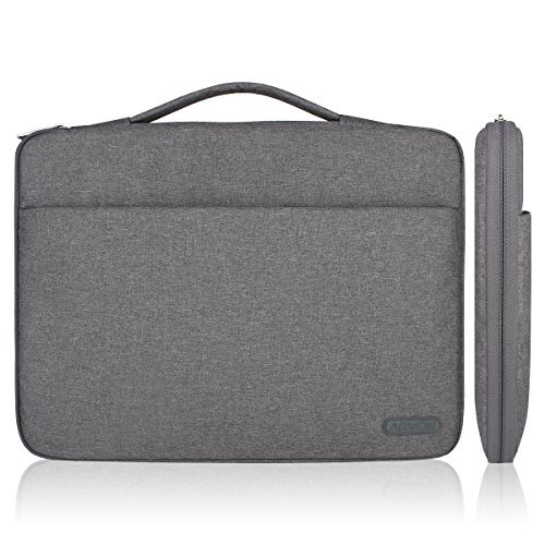 Arvok 11 11,6 12 Zoll Notebooktasche Laptoptasche Aktentasche Wasserfest Canvas-Gewebe Laptop Schutzhülle...