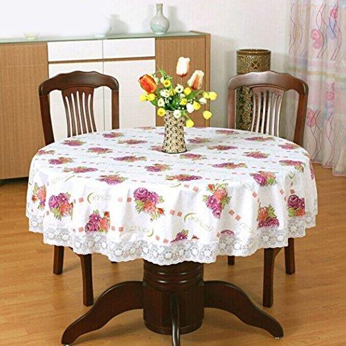 Home Table Cover, outgeek Haushalt Tischdecke Round Table Cover für Party Restaurant