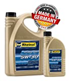 5 Litre Engine Oil SAE 5 W-30 SWD DPF Audi VW BMW MB Longlife 5 W30 507.00 504.00 Rheinol – Made in Germany