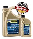 5Litre Engine Oil SAE 5W-30SWD DPF Audi VW BMW MB Longlife 5W30507.00504.00Rheinol–Made in Germany