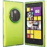 Silikonhülle Schutzhülle für Nokia Lumia 1020 Grün, transparent