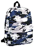 Eberhard Faber 577631 - Rucksack Camouflage, ca. 46 x 32 x 5 cm, navy