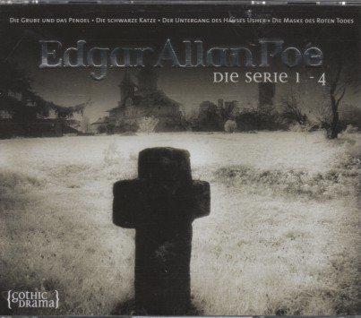 Edgar Allan Poe - Die Serie 1-4 (Die Grube und das Pendel, Die schwarze Katze, Der Untergang des Hauses Usher, Die Maske des roten Toten) - Hörbuch mit 3 CDs - Gothik Drama 2003 (Haus Toten Der 3)