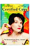 Certified Copy [DVD] [2010]