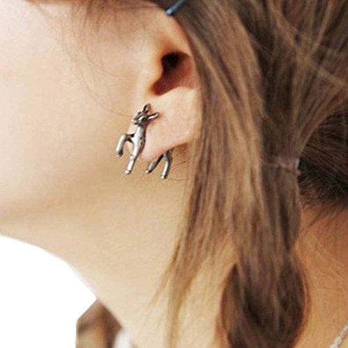Ein Paar kreative spezielle Mode Cartoon Tiere Ohrstecker Ohrringe, (Designer Modeschmuck Ohrringe)