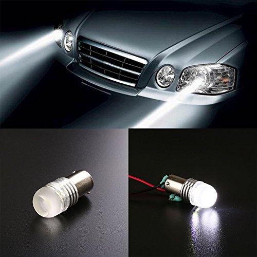 Leaftree 1156 BA15S P21W CREE LED Perles 5W Lampe de recul de véhicule Automobile 6000K Blanc