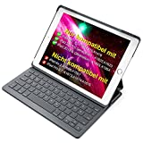Inateck Ultra Slim Tastatur Hülle kompatibel mit 9.7' iPad 2018(6. Generation), iPad 2017(5.Generation) und iPad Air 1, Keyboard Case in QWERTZ Layout, BK2003