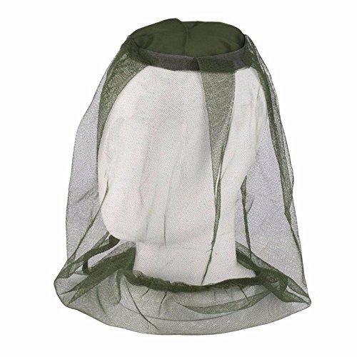 Aolvo Mosquito Insektenschutz-Hut, Safari-Hut, atmungsaktiv, Hut Schafe-Angeln-Gewebe, Reisen, Camping, Outdoor,-für Herren Damen Kinder -