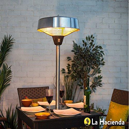51%2B7xnJGDoL. SS500  - La Hacienda Silver Series Table Top Halogen Heater