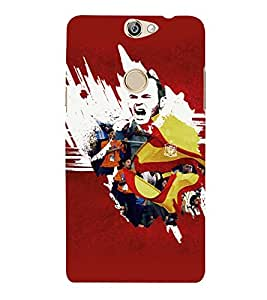 PRINTVISA Football Ivan Case Cover for COOLPAD MAX