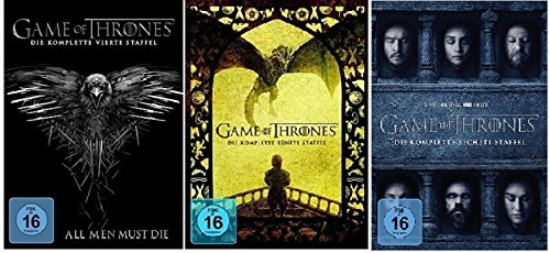 game of thrones staffel 6 deutsch dvd Game of Thrones - Season / Staffel 4+5+6 * DVD Set